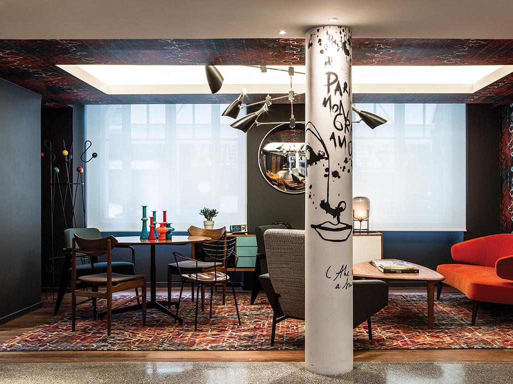 Le General Hotel, Paris, lounge