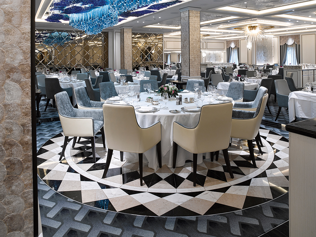 Seven Seas Explorer - Compass Rose Restaurant