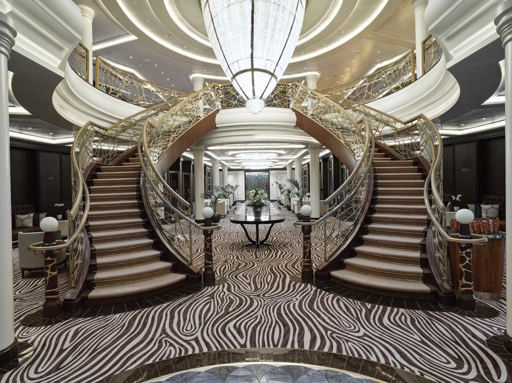 Ulster Carpets in Seven Seas Explorer Atrium