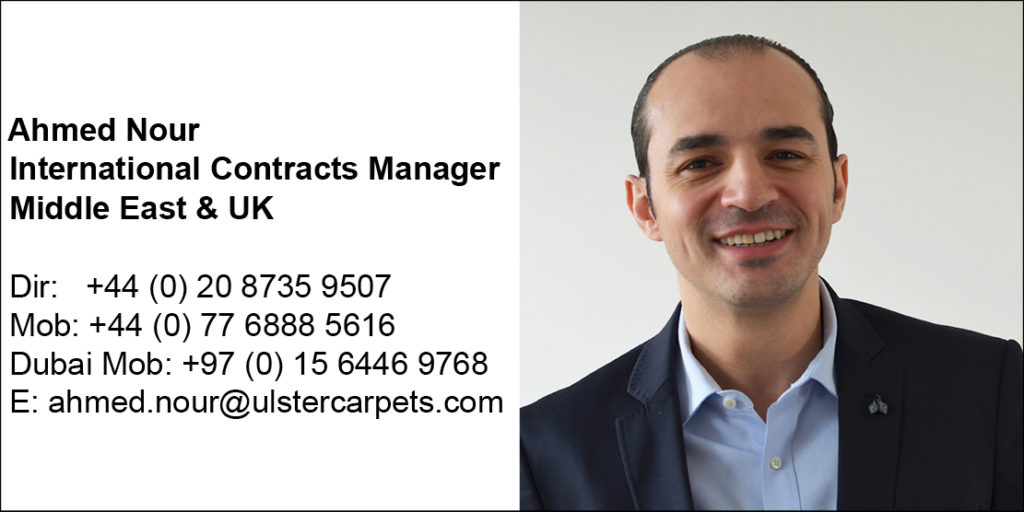 Ulster Carpets Ahmed Nour